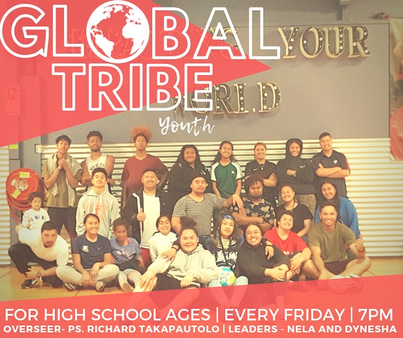 Global Tribe Youth website